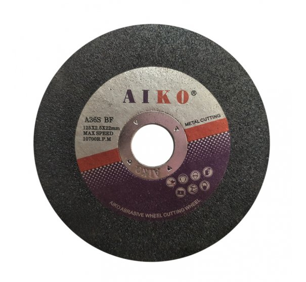 "5"" AIKO cutting disc for metal"