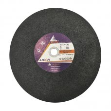 "14"" LICON cutting disc for steel(Black)"