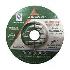 "4"" LICON  Flexible Grinding Disc for Stainless Steel"