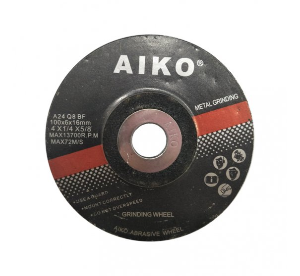 "4"" AIKO grinding disc for metal"