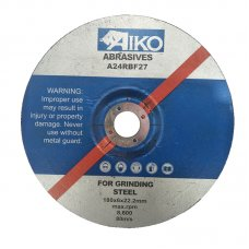 "7"" AIKO grinding disc for metal"