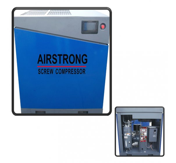 Airstrong 50HP 415V Rotary Inverter Screw Compressor KSPM50HP