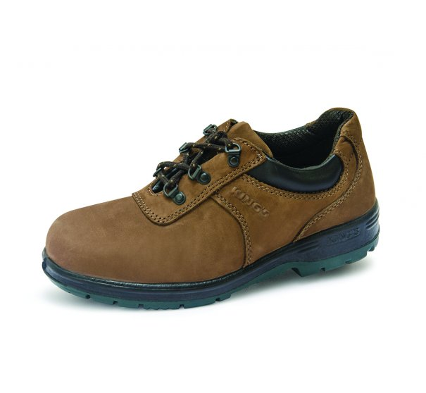 King's PU Heat Resistant Rubber Range low Cut Safety Shoes KP900KW