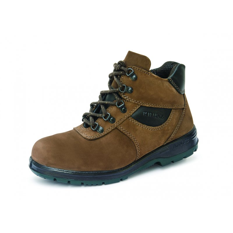 King's PU Heat Resistant Rubber Range Mid Cut Safety Shoes KP993KW
