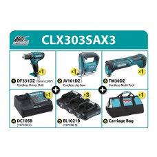 Makita Cordless Combo Kit CLX303SAX3