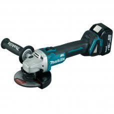 "Makita Cordless Angle Grinder DGA506RTE 125mm (5"")"