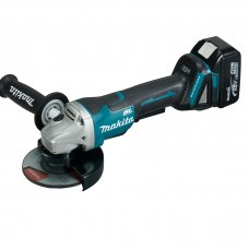 "Makita Cordless Angle Grinder DGA508RTE 125mm (5"")"