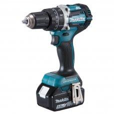 "Makita Cordless Hammer Driver Drill DHP483RTE 13mm (1/2"")"