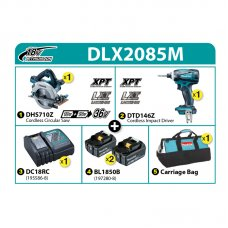 Makita Combo Kit DLX2085M
