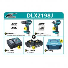 Makita Combo Kit DLX2198J