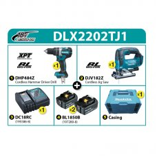 Makita Combo Kit DLX2202TJ1