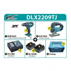 Makita Combo Kit DLX2209TJ