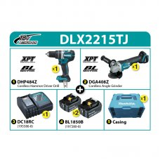 Makita Combo Kit DLX2215TJ