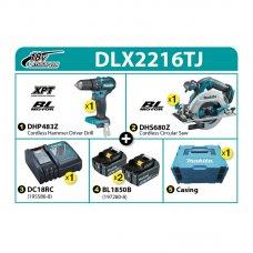 Makita Combo Kit DLX2216TJ