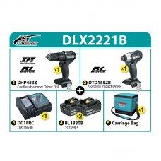Makita Combo Kit DLX2221B