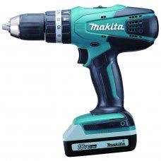 """Makita Cordless Hammer Driver Drill HP457DWE 13mm (1/2"""")"""